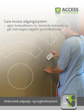 Care Access adgangssystem – til borgere i eget hjem og ældreboliger