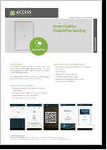 MobilePay løsning