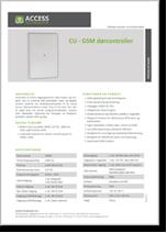 CU - GSM Dørcontroller