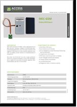MEC – GSM Online RFID læser