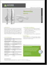 Motorvrider med RFID