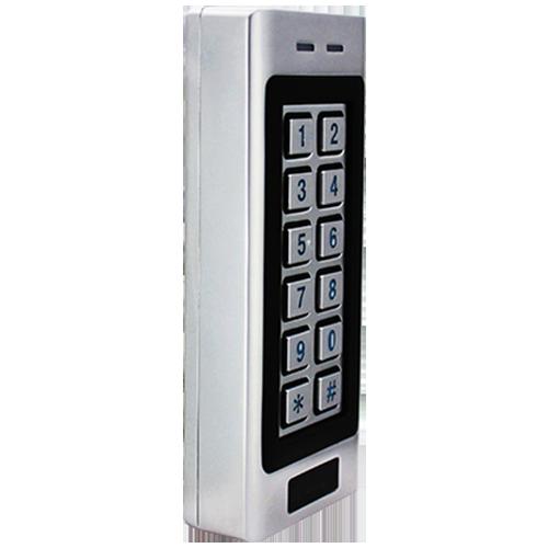 RFID Kodetastatur metal, Mifare, Wiegand 34 og 37 bit