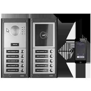 Dørtelefon og porttelefon til trådløs adgangskontrol